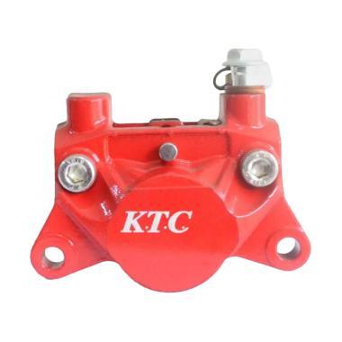 cf81cbcc6c KTC CAL9015 2 Piston Kaliper Rem Cakram - Merah