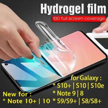 harga Jual Anti Gores Hydrogel Galaxy S10S10S10eNote X 10 9 8 S9 S8 plus lite Berkualitas Blibli.com