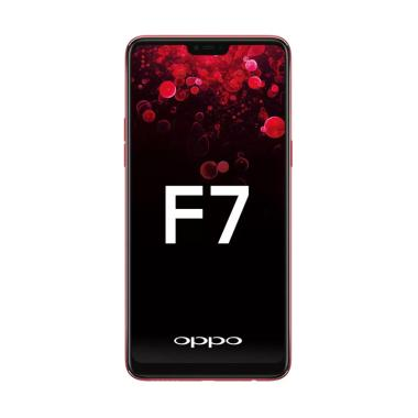 OPPO F7 Smartphone - Red [64GB/ 4GB]
