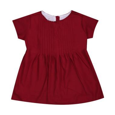 MacBee Allamanda Baju Dress Anak - Red