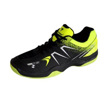 Flypower Plaosan 5 Sepatu Badminton Pria - Black Citrus