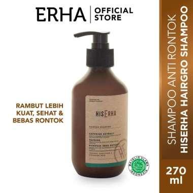 harga HIS ERHA Hairgro Shampoo 270 ml - Shampo Anti Rontok & Penumbuh Rambut Khusus Pria / perawatan rambut pria kering rusak / perawatan rambut pria lebat Blibli.com