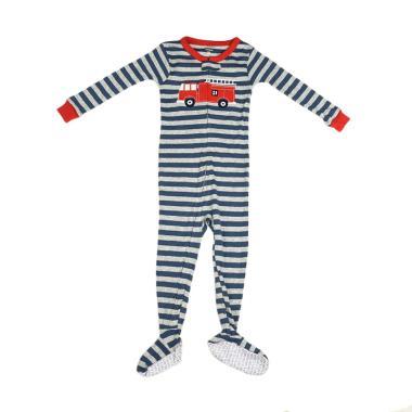 Branded Outlet 1040 Jumper Carter's Stripe Car Baju Jumpsuit Anak