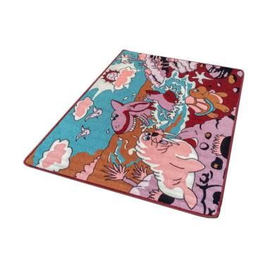 Tren-D-rugs JK07MR Karakter Anak-anak Karpet [100 x 140 cm]