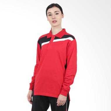 Just Fashion Combat AR Samora Atasa ... a - Merah Kombinasi Hitam