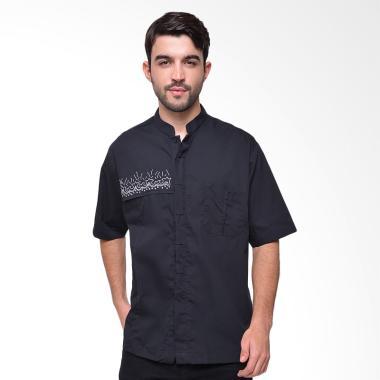 Arafah Miftah Baju Koko Pria - Black