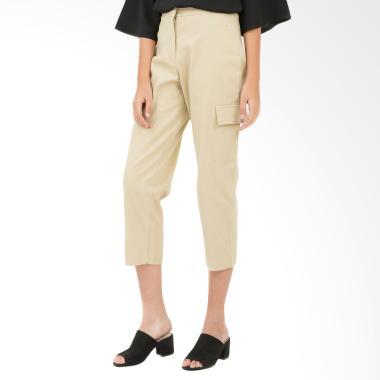 Tendencies Debbys Cargo Khaki Pants Celana Wanita