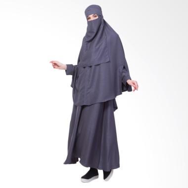 Allev Umrah Set Gamis - Abu