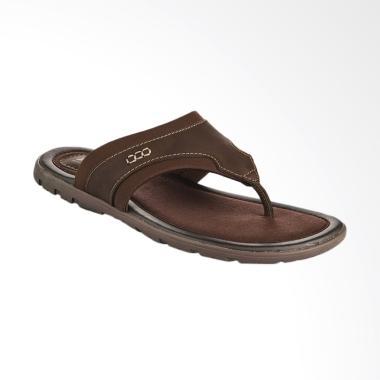 Bata Qanza Sandal Pria - Brown [8744206]