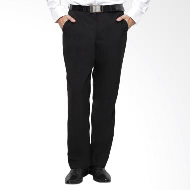 Traffic Formal Regular Celana Panjang Pria - Hitam