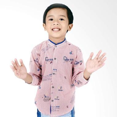 Kids Icon Baby Boy Collar Stand Up  ... eja Anak Laki-Laki - Pink
