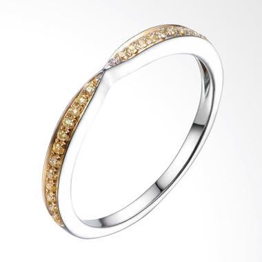 Tiaria Dazzling Citrine Ring [9K ]