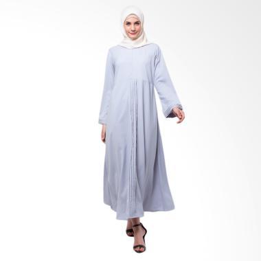 Allev Safira Dress Muslim Wanita - Silver