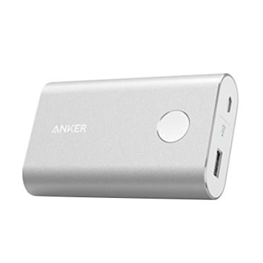 Anker PowerCore Powerbank - Silver  ... 50 mAh/ Quick Charge 3.0]