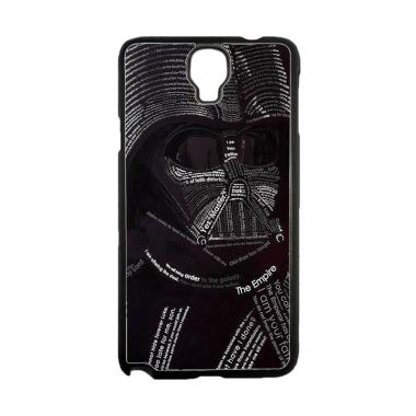 Acc Hp Star Wars Darth Vader Typograph O3297 Custom Casing for Samsung Note 3 Neo