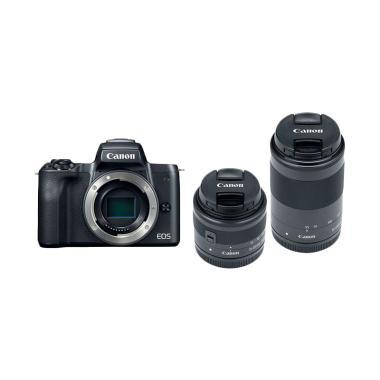 Canon EOS M 50 Kit 15-45 + 55-200