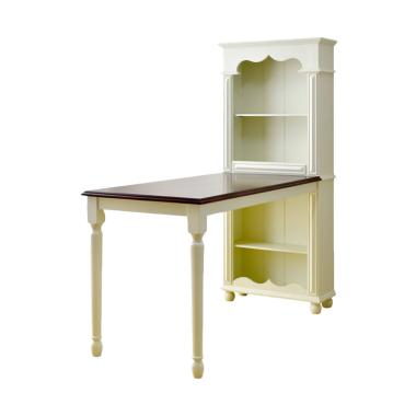 Livien Furniture Grace Cabinet French Country Meja Makan