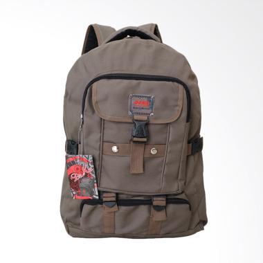 Deka Backpack Tas Pria - Coklat