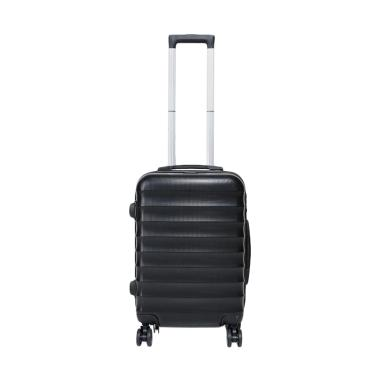 Exsport Macy Plaino Luggage Koper - Black [20 Inch]
