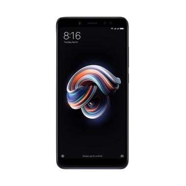 Xiaomi Redmi Note 5 AI Smartphone - Black [64GB/ 6GB] GARANSI RESMI TAM
