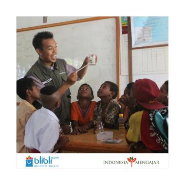 Iuran Publik - Indonesia Mengajar Kep. Yapen [Rp 52.500]