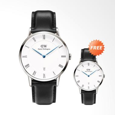 Daniel Wellington Dapper Sheffield  ... Jam Tangan Wanita - Black