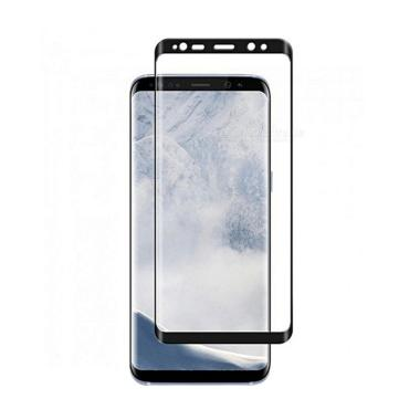 Baseus Silk Screen Printed Tempered Glass Screen Protector for Samsung Galaxy S9 Plus - Hitam [