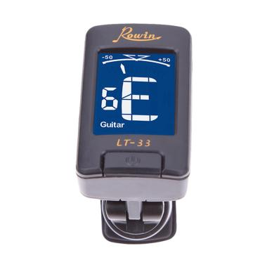 ROWIN LT-33 Clip On Tuner Gitar - Black