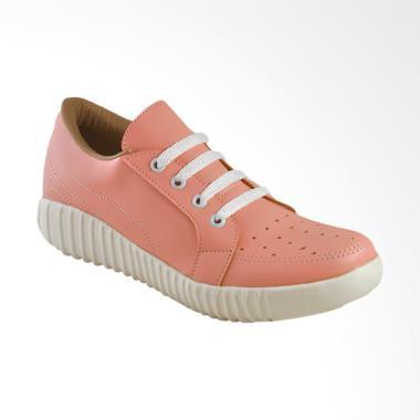 harga JAVA SEVEN BRI 122 Sepatu Kasual Wanita - Peach Blibli.com