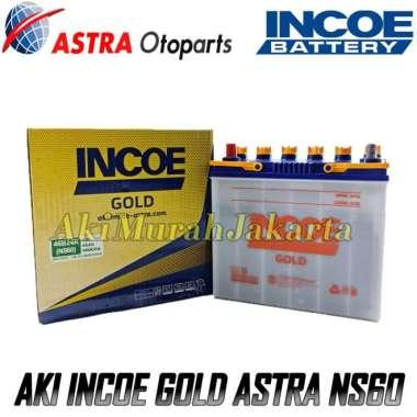 Aki Mobil Toyota Avanza INCOE GOLD Astra NS60 Aki Basah 12V - 45 Ah
