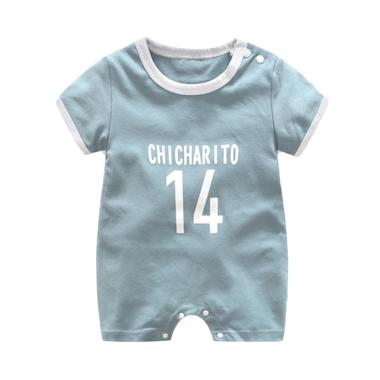 Abby Baby Chicharito Romper Baju Jumpsuit - Air Blue