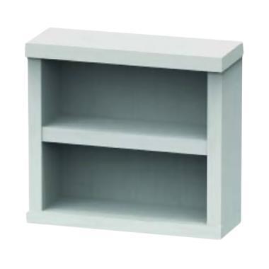 JYSK Wall Shelf Valencia Mini Rak Dinding - White [24 x 9 x 22 cm]