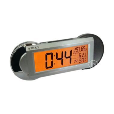 Seiko QHL071 Thermo-Hygrometer Digital Desktop Alarm Clock