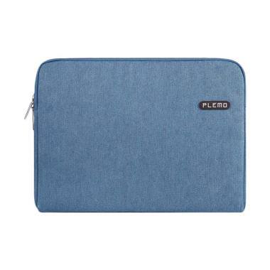 Plemo Softcase Sleeve Denim Canvas Tas Laptop [15 Inch]