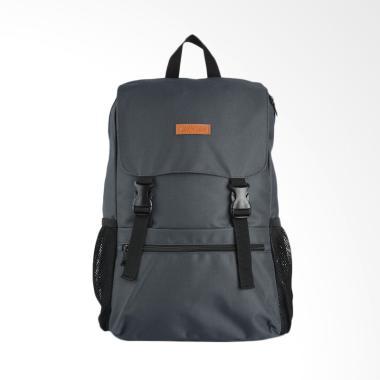 Airwalk Paul Backpack Tas Pria - Grey [AIWBPU8605GY]