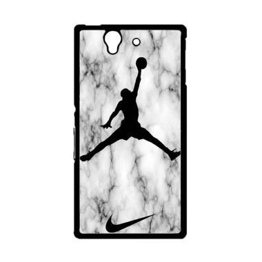Acc Hp Nike Air Jordan Marble Z5364 Custom Casing for Sony Xperia Z