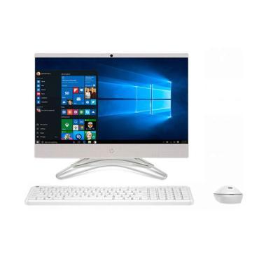 harga JCC CPUCOM - HP PC All In One 22-C0033D Desktop PC - Putih [Core i3-8130/ 4GB/ 1TB/ 21.5 Inch/ Windows 10] Blibli.com