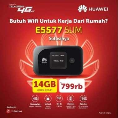 harga Mifi Modem Wifi Router 4G Huawei E5577 Telkomsel Unlock Free 14Gb MULTY COLOUR Blibli.com