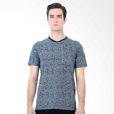Manzone Slim fit Wills T-Shirt Pria - Navy