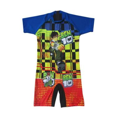 Rainy Collections Karakter Ben 10 Baju Renang Diving Anak [Size SD]