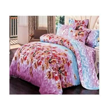 Melia Bedsheet J-4266 Katun Jepang Set Sprei - Floral Print
