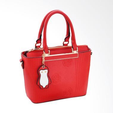 Purnama Motif Bunga Import Premium Hand Bag Wanita