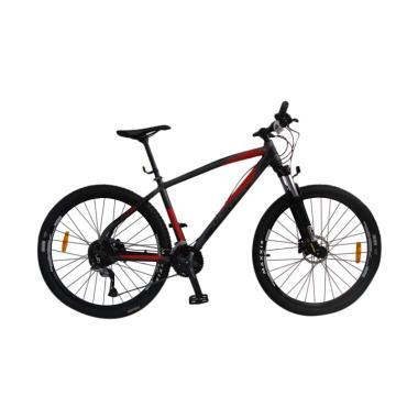 United Nucleus 4 Sepeda MTB - Grey Black Red