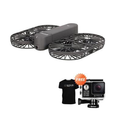 Brica Invra 5 Hybrid AirSelfie Drone [4K] + Free Black T-Shirt