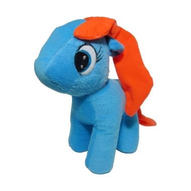 Dannherl Kuda Poni S Boneka - Biru  23x8x23 cm  f2b41732aa