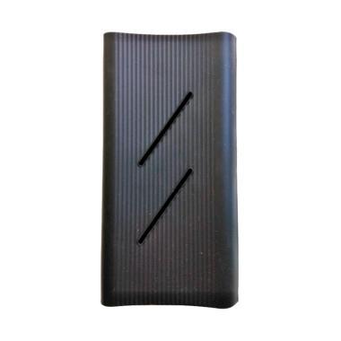 Xiaomi Silicon Casing for Mi Powerbank 2C 20000 mAh - Hitam