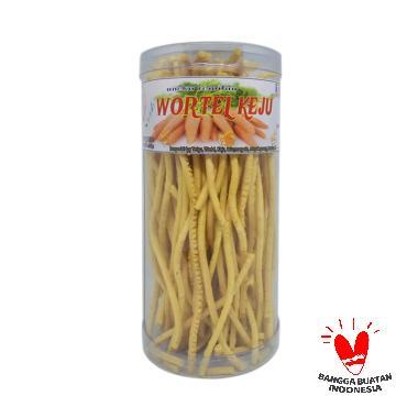 DAPUR 80 Stik Wortel Keju Makanan Ringan [200 g]