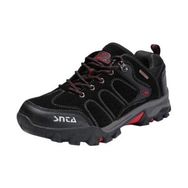 harga SNTA Footwear Sepatu Gunung Mode Pendek - Black Red [432] Blibli.com