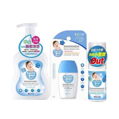 Charm Baby Probiotic 2-in-1 Hair &  ... pray + Sun Protection Set
