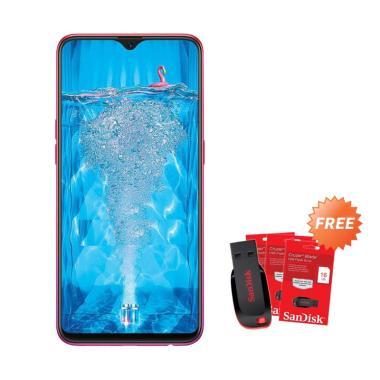 harga OPPO F9 Smartphone [64GB/ 4GB] + Free Flashdisk Sandisk 16 GB Blibli.com